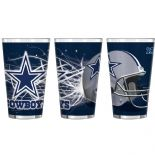 Dallas Cowboys 16-Ounce Pint Glass
